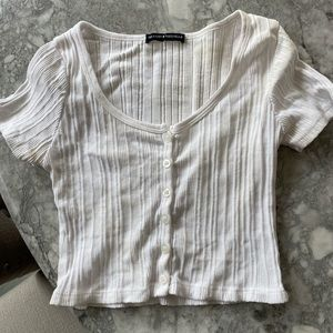 Brandy Melville ribbed zelly top